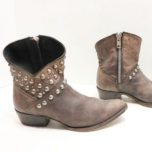 Matisse anke studded boots size 10